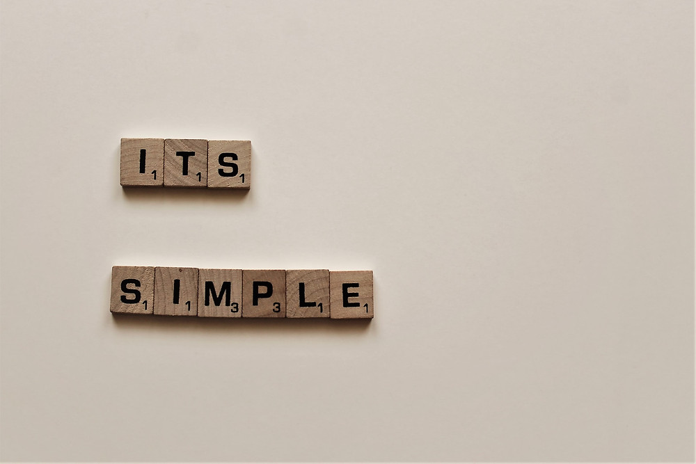 Keyword Plan it's simpe scrabble blocks