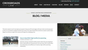 Crossroads Law firm blog