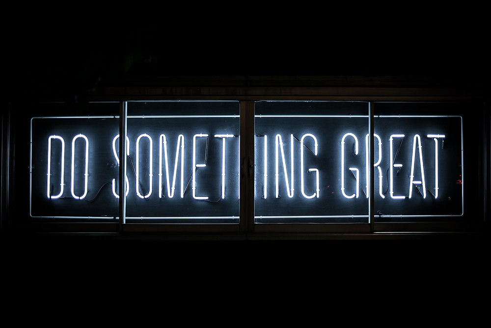 Neon sign do something great nonprofits blog