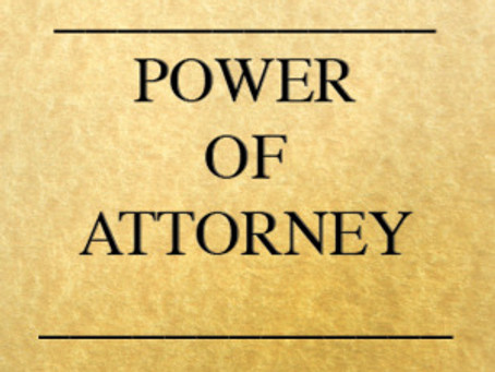 Why Not Just Use an Off-the-Shelf Power of Attorney Form?