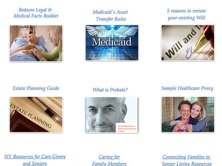 Helpful and Free easy-to-read Legal Guides for Senior Citizens.