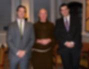 Fr. Andrew Reitz, Matthew Raphan, Nick Mederos