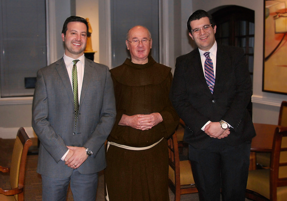 Matthew S. Raphan, Esq.   FR. Andrew Reitz, Church of St. Francis of Assisi     Nick Mederos, Planned Giving Manager, The Archdiocese of New York