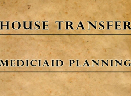 Medicaid Benefits – House Transfer: Deed Does Not Conflict