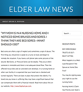 bedsore lawyer, bedsore law firm