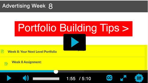 Session 8: Portfolio Building Tips