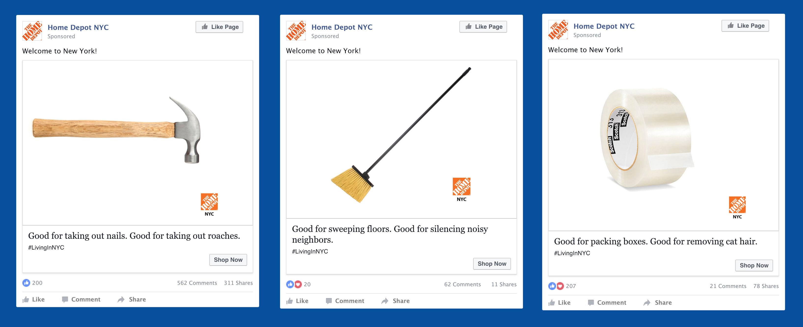 Social Media - Home Depot