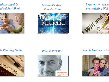 Free Downloads: Easy to read elder guides for families and seniors.