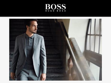 Hugo Boss made for me