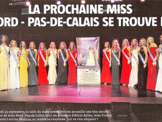 Élection Miss Nord Pas de Calais 2017