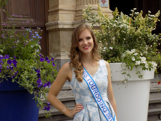 Mathilde Verbeke, Miss Tourcoing 2016, à Tourcoing Plage