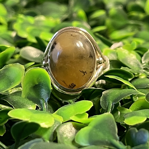 Yellow Opal Ring