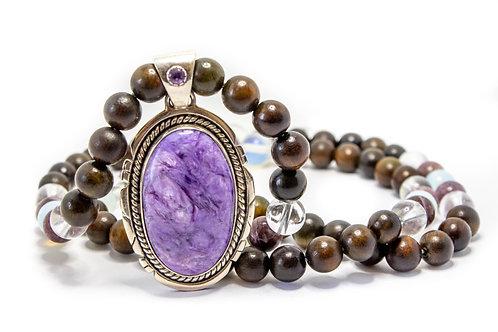 Purple Galaxy Necklace