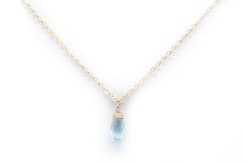 Topaz Dainty Necklace