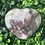 Thumbnail: Garnet, Smoky Quartz & Calcite Heart