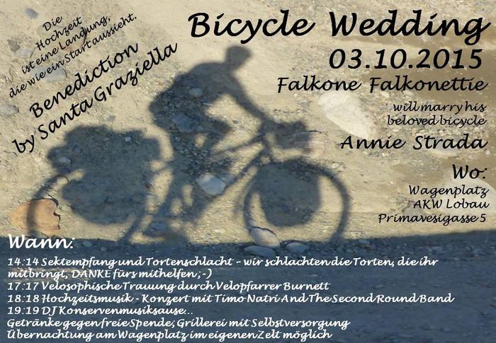 Liebe Räder dieser Welt und alle Lieben aufs Rad gekommenen!