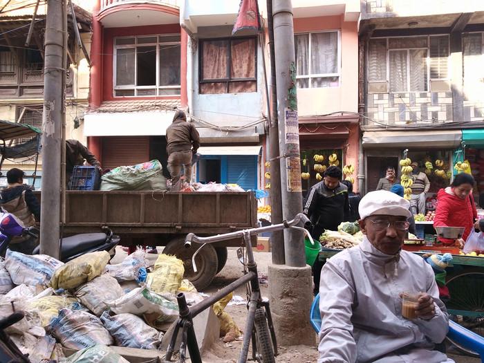 Namaste - Kathmandu Stadt