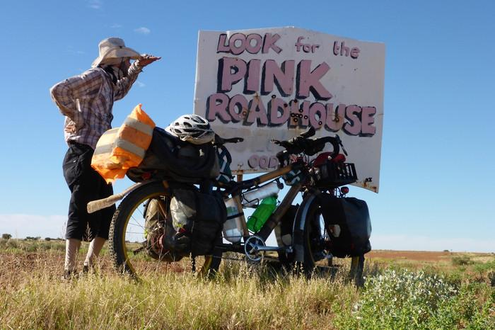 Oodnadatta - Der Pinke Weg zum Roadhouse