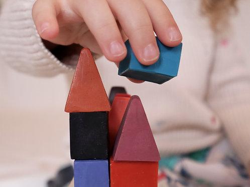 cubos e triângulos - pack casinhas