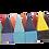 24 cores com todos os formatos