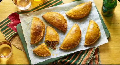 Jamaica's ubiquitous sunshine meat patty