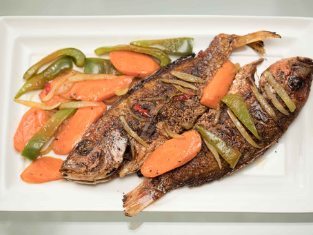 A Flavor Of Sweet And Savoury; Escovitch Fish