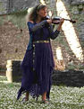 Fiona playing in Tintern Abbey1.jpg