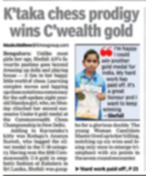 Shefali Commonwealth Gold