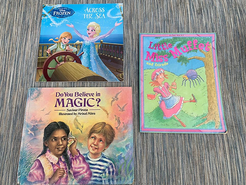 Book bundle (Tangled/Magic/Muffet)