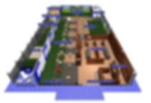 アドバンスゴルフ店内マップ