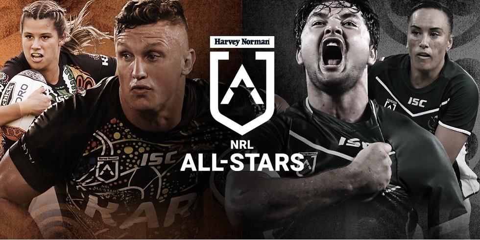 NRL 2021 Indigenous VS Maori All Stars Football Game
