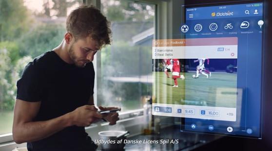 Danske Spil - Oddset App - Ude i skoven