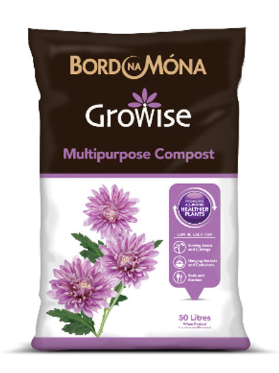 Buy Bord na Móna Growise Multipurpose Compost 50 Litres