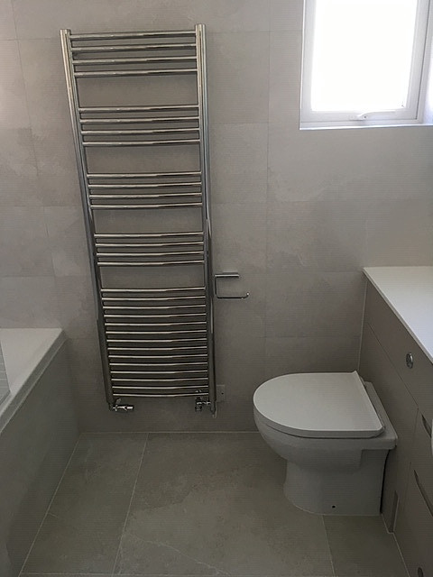Towel Rail & Built in Furniture & WC