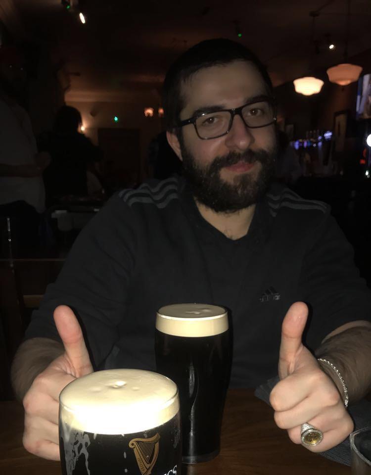 Next sponsor... Guinness?