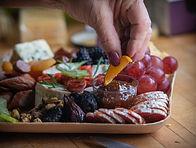 Arranging a platter