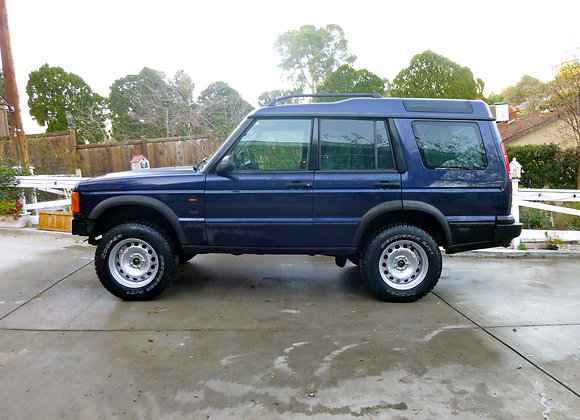 LAND ROVER DISCOVERY I/II CORSA GT-100 SERIES STEELIES