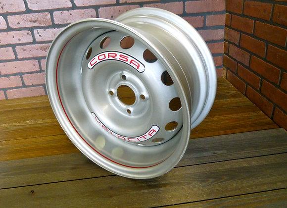 CORSA GT-100 SERIES 15 INCH TWO PIECE STEEL WHEEL