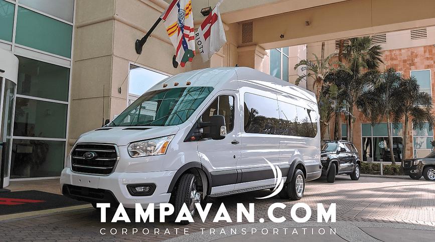 Private Van Service in Tampa Bay, FL.