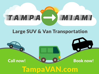 Tamp Van Service. Ford Transit Van service in Tampa.