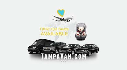 Tampa Van Services. Tampa airport transportation.