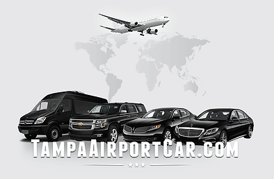 Tampa airport car service. TPA airport transportation.