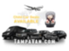 Tampa Van. Tampa Town Car. Tampa Limo. Tampa airport car.