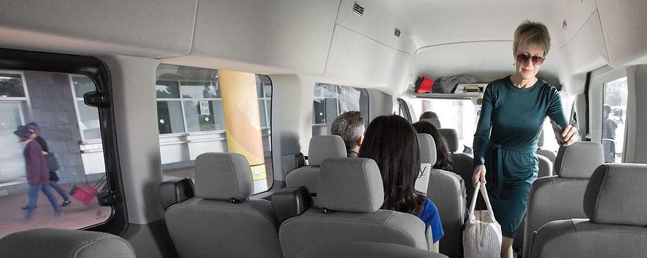 Chicago Midway airport van service.