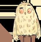A Cartoon Owl