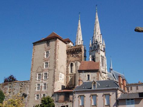 Chateau des Ducs de Bourbon Cathédrale