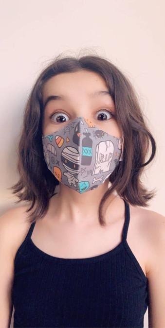 Spooktacular Squad Face Mask