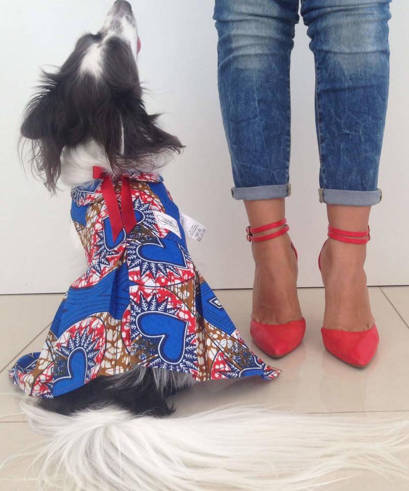 Bespoke Kanuku Dress