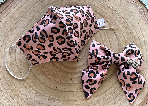 Matching Face Covers & Pet Collar Bows