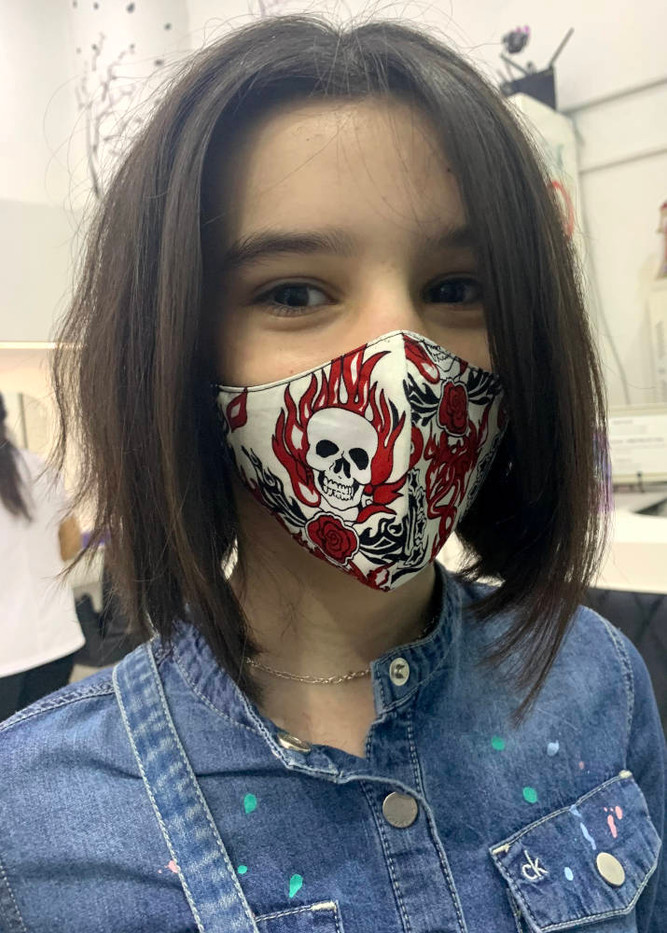 Kid Face Cover